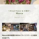 〜Dried Flower & 古道具〜 Marca